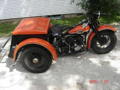 1954 Harley Servi Car
