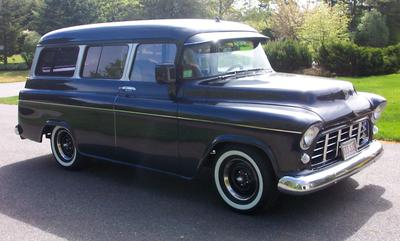 1956 Chevrolet Suburban, Retro Rod