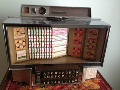 1960's Rowe AMI WRA 200 Remote Jukebox Wall Mount