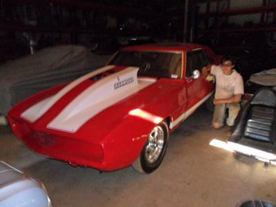 1969 Camaro  Race Car