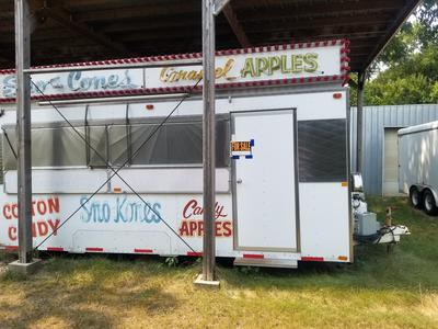 Used 1970 Cotton Candy Trailer