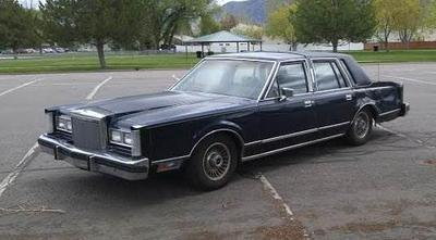 1980 Lincoln Town Car - $1,200 - Logan Utah