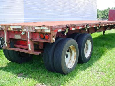 flatbed semi trailer 45'