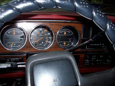 Interior of Dodge Truck