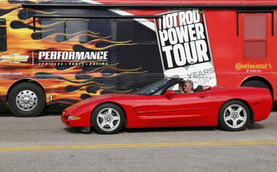 1998 Red Convertible Corvette