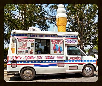 Soft Serve Ice Cream Truck