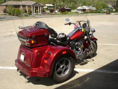 2006 Harley Road King Trike