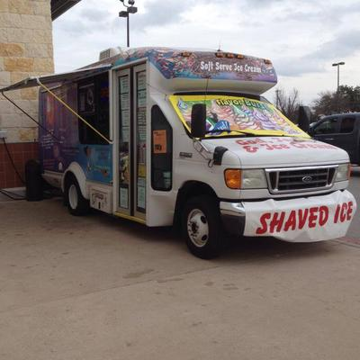 2007 Ford E350 Soft Serve, Shaved Ice, Ice Cream Bus
