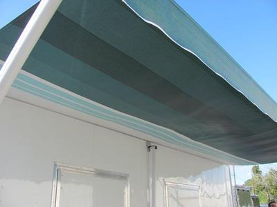 Original white finish with canopy.