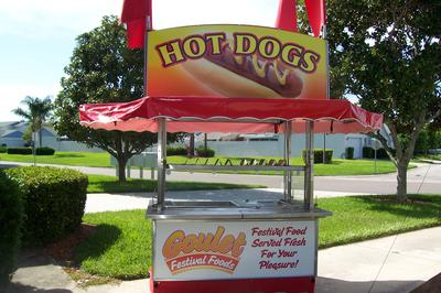 2011 S/S Hot Dog Cart