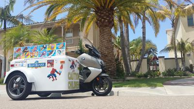 2013 BMW Ice Cream Motorcycle