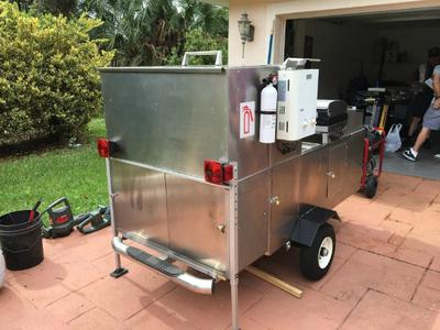 Stainless Steel Food Cart