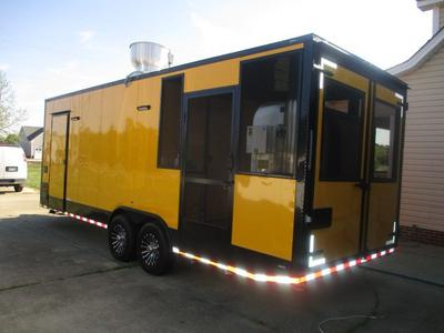 2018 Southern Dimensions Concession Trailer RTR# 9043299 ...