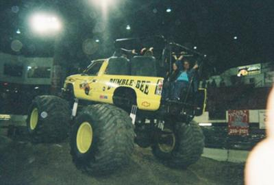 Bumble Bee Monster Truck Ride Truck