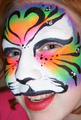Aboutface partyworks face painting elizabethtown ky Usa bridal elizabethtown ky