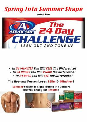 24 Day Challange Advertisement.