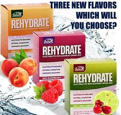 Rehydrate product.