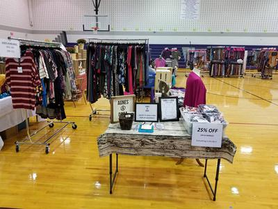 Women's Business Clothing Booth