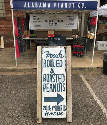 Boiled and Roasted Peanut Booth
