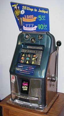 Antique Slot Machine Blowout Sale