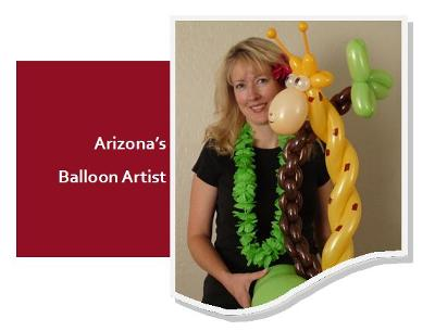 Arizona's Balloon Artist