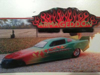 Armageddon Jet Car