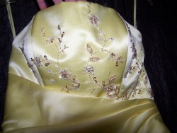Hand Beading for Bridesmaid Gown