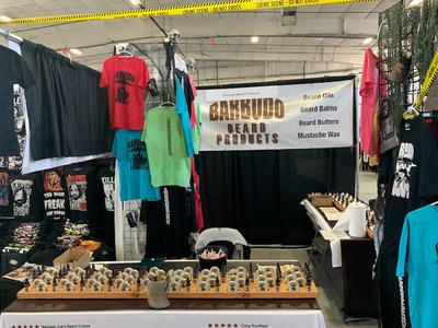 Barbudo Beard Products Booth