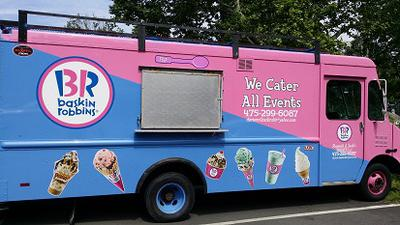 Baskin Robbins Van