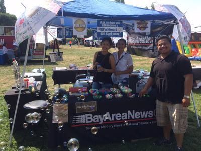 Bay Area Newspapers Vendor Booth