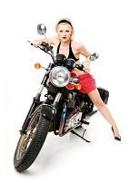 Hot Biker Babe