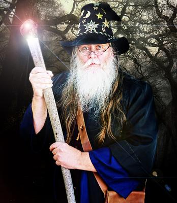 Stumbledore the Wizard.