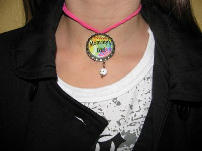 Magnetic Bottle Cap Necklace