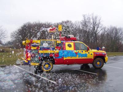 Bubble Truck Bubble Performer