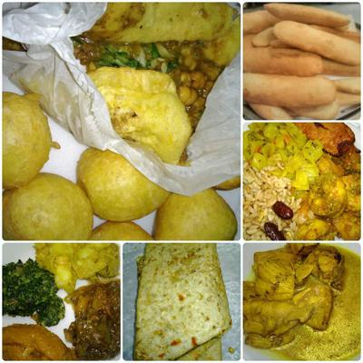 Some samples of our food choices.