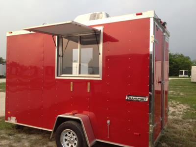 Concession Trailer.