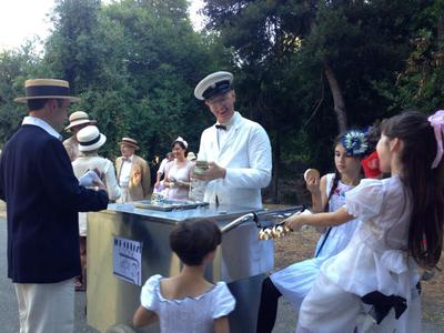 At the Gatsby Afternoon Picnic in Oakland, Ca