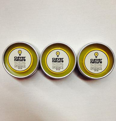 CleverNature All NATURAL Cuticle Butter - Vitamin E.