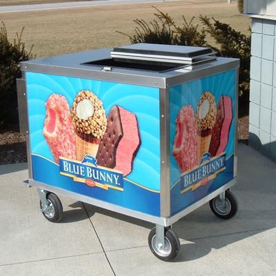 Ice Cream Vending Cart