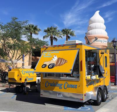 Cruising Cones Soft Serve Ice Cream Vendor