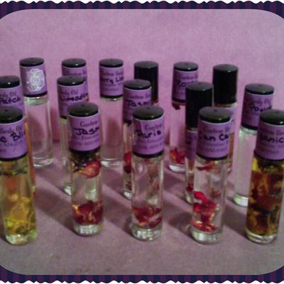 Custom Candles and Body Oils
