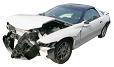 Damaged Sports Car