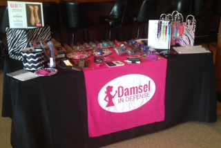 Damsel in Defense Vendor Table
