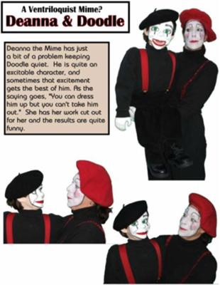 Deanna The Mime