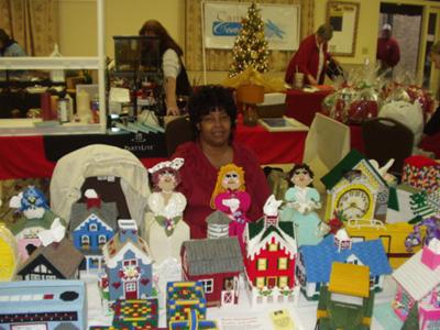 Craft Fair in Camden SC.
