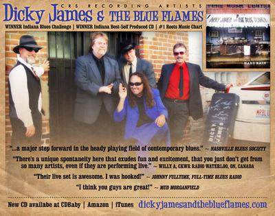 Dicky James and the Blue Flames