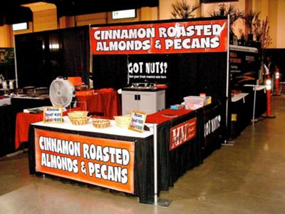 cinnamon roasted almonds machine
