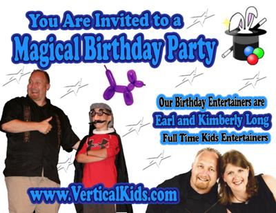 Birthday and other Parties