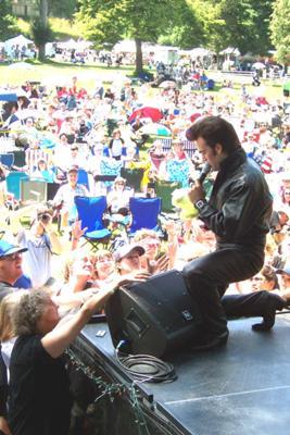 Detroit Michigan Elvis Impersonator Don