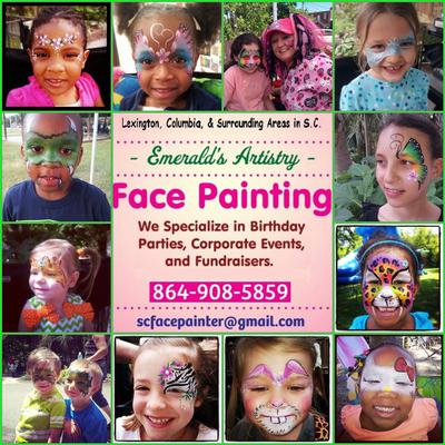 Professional Face Painting!